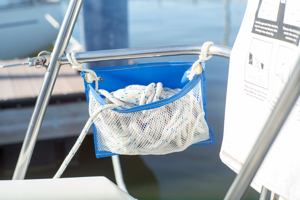 How to: Rope Bags or Pockets for your Sailboat ...